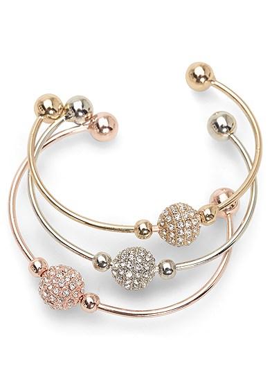 Tri Color Bracelet Set