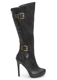 Shoe series front view Buckle Detail Boots