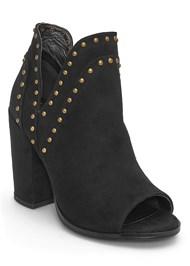 Shoe series side view Stud Detail Booties
