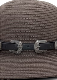 Alternate View Double Buckle Floppy Hat