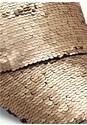 Alternate View Sequin Detail Baseball Cap