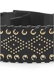 Alternate View Embellished Waist Belt