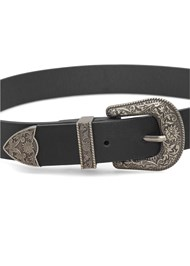 Detail  view Double Buckle Belt