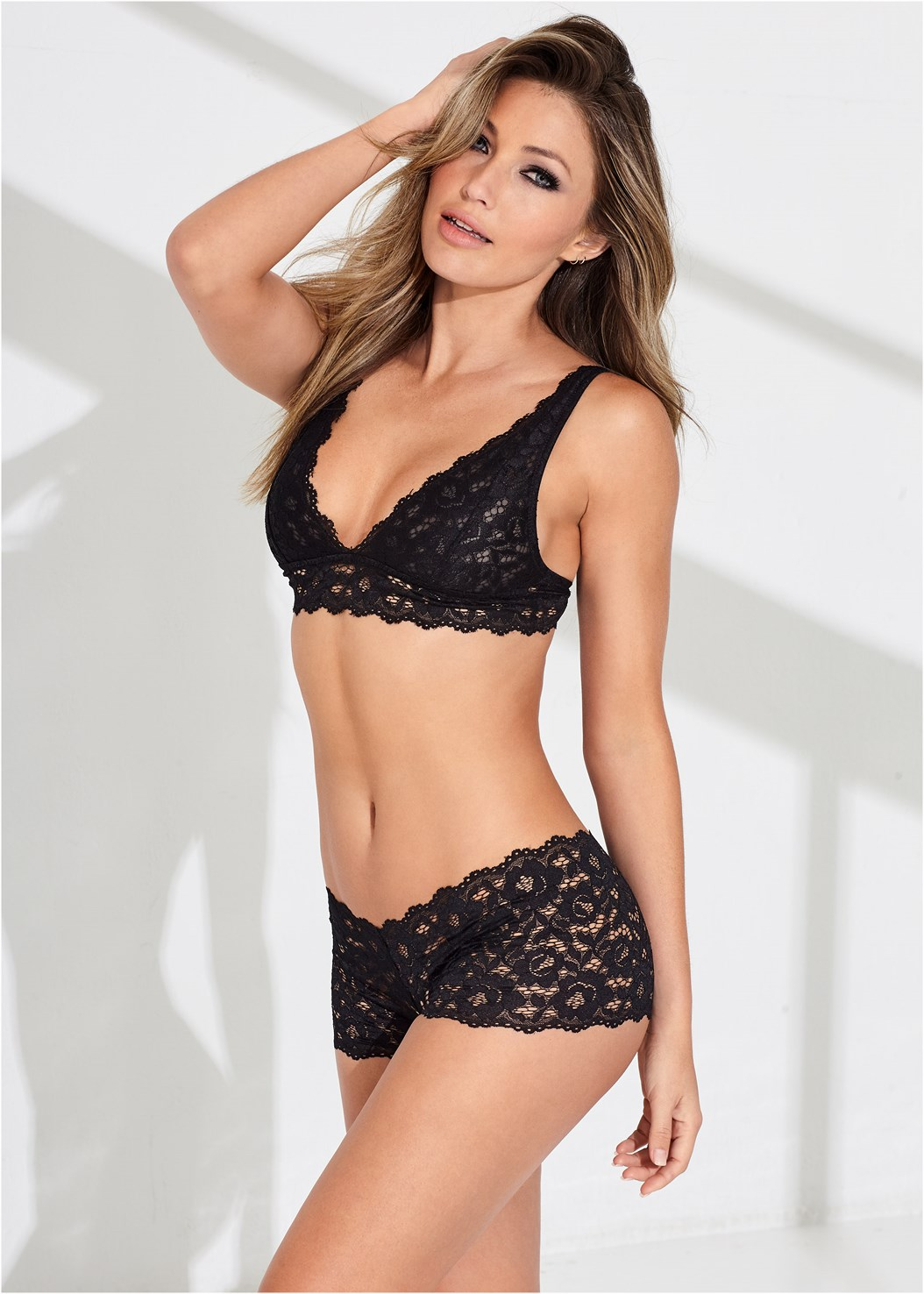 Lace Open Boyshort