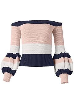 plus size off shoulder sweater