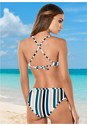 Back View Strappy Bralette Bikini Top