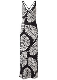 Alternate View Palm Print Maxi Dress