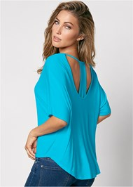 Front view Racerback Basic Top