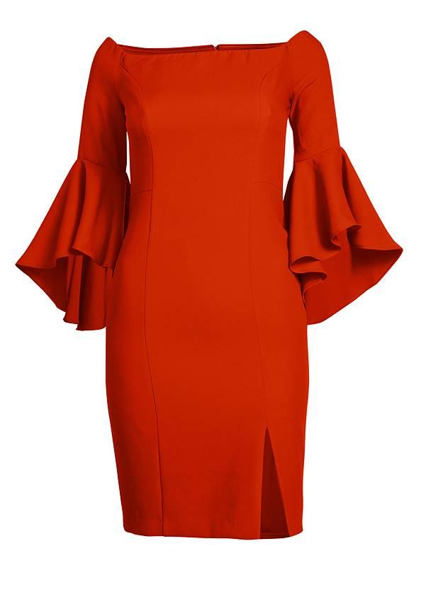 Alternate View Sleeve Detail Dress