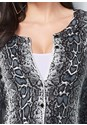 Alternate View Snake Print Cardigan