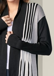 Alternate View Striped Cardigan