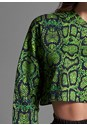 Alternate View Python Printed Sweatshirt