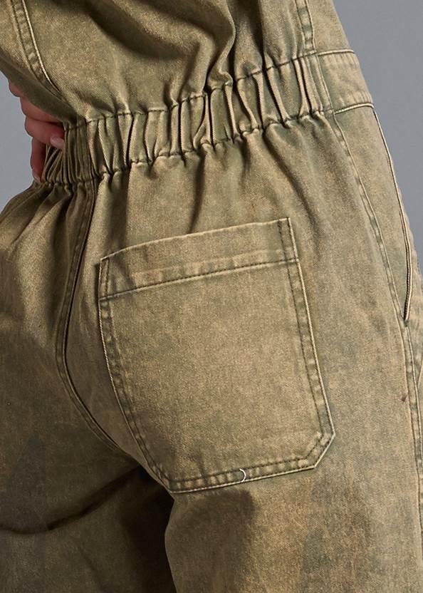 Alternate View Cuffed Boiler Jumpsuit