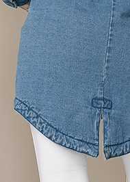 Alternate View Fleece Lined Denim Coat