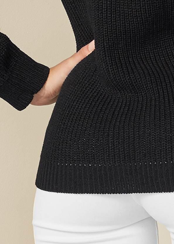 Alternate View V-Neck Striped Sweater