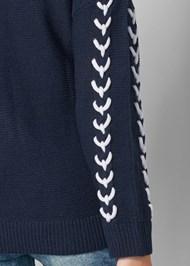 Alternate View Stitch Detail Sweater