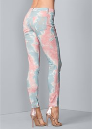 Alternate View Tie Dye Skinny Jeans