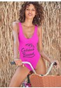 Cropped front view Cabana Bound One-Piece