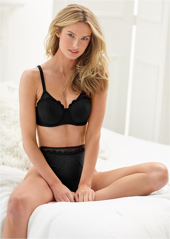 Unlined Demi Bra