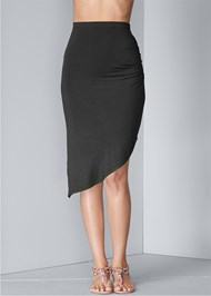 Waist down front view Easy Midi Skirt