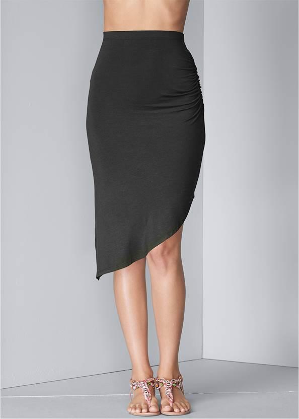 Waist down front view Easy Midi Skirt