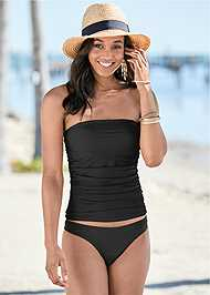 Front View Slimming Tankini Top