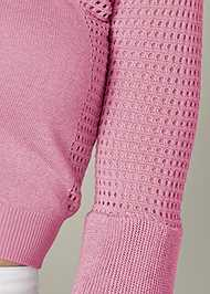 Alternate View Tiered Sleeve Sweater