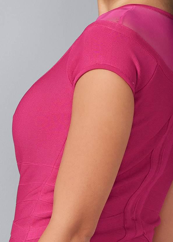 Alternate View Bandage Peplum Dress