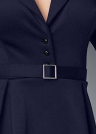 Alternate View Ruffle Waist Belted Dress