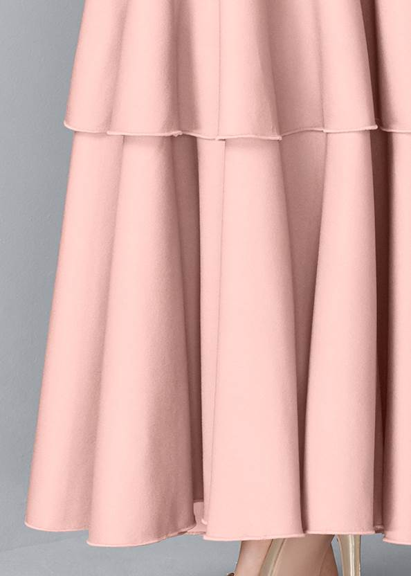 Alternate View Ruffle Detail Gown