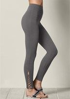 ankle detail leggings