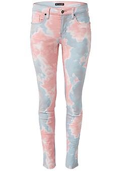 plus size tie dye jeans