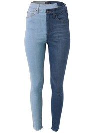Ghost  view Duo Tone Jeans