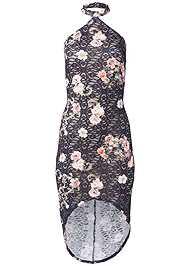 Alternate View Floral Lace Bodycon Dress