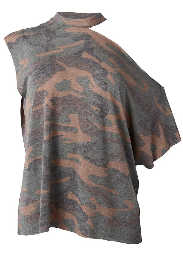 Ghost  view Camo Lounge Top