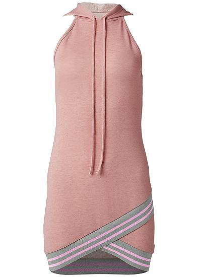 Plus Size Hooded Detail Dress