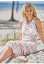 Alternate View Crochet Maxi Dress Cover-Up