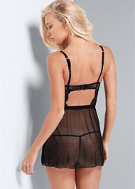 Back View Push Up Chemise