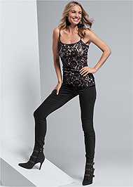 Full front view Lace Cami