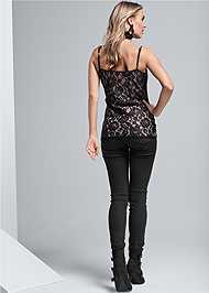 Full back view Lace Cami