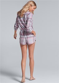 Back View Print Sleep Romper