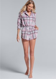 Alternate View Print Sleep Romper