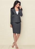 pencil skirt suit set