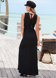 Full  view V-Neck Maxi Dress