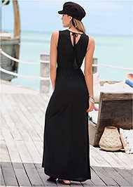 Full  view V-Neck Maxi Dress