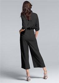 Back View Utility Jumpsuit