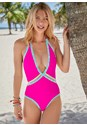 Cropped front view Sao Paulo V-Neck One-Piece