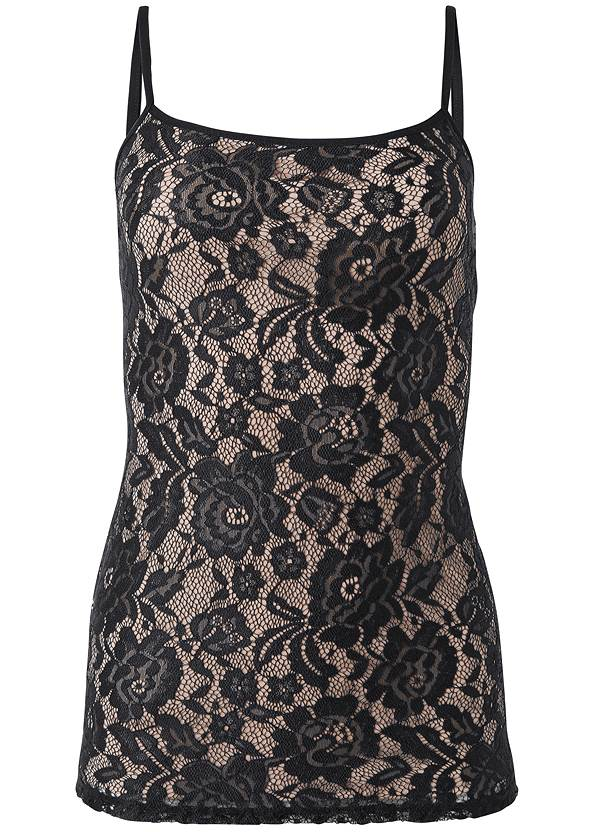 Ghost with background  view Lace Cami