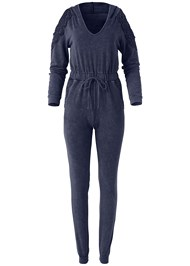 Alternate View Cold Shoulder Jumpsuit