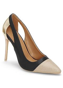cut out detail heels